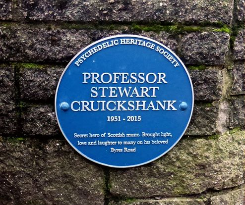 Stewart Cruickshank plaque